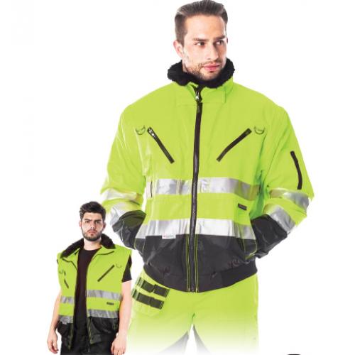 Hivis jacket 4 in 1