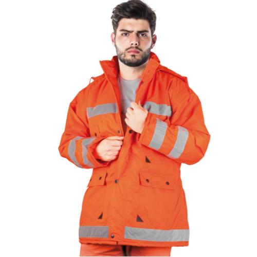 Hivis jacket K-ORANGE