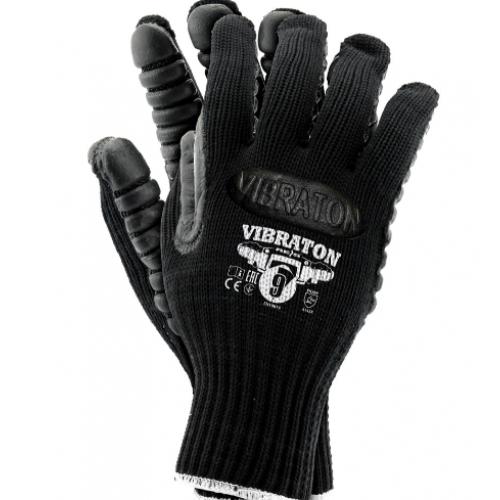 Anti-vibration protective glove